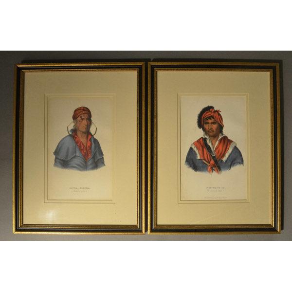 McKenney Hall Prints, framed
