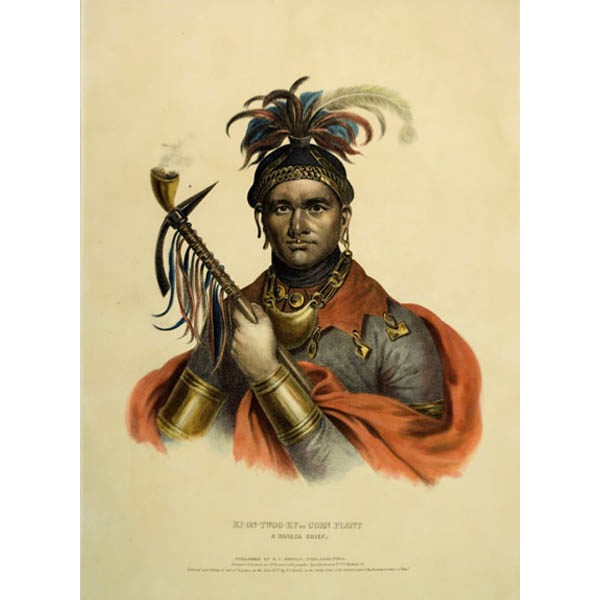 McKenney & Hall print, Cornplanter, Seneca Chief