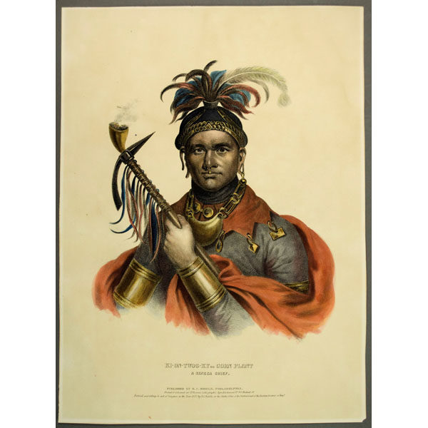 McKenney & Hall print, Cornplanter, Seneca Chief