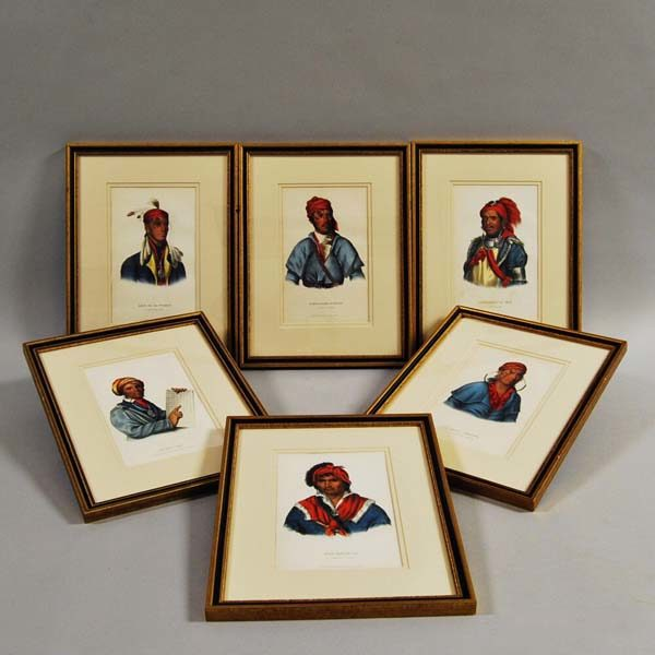 McKenney & Hall Indians Octavo Framed