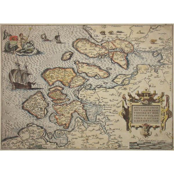 Abraham Ortelius, Zelandicarum Insularum Exactissima et Nova Descriptio