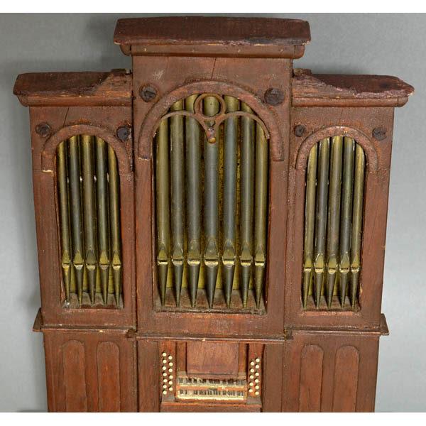 Pipe Organ Model, detail