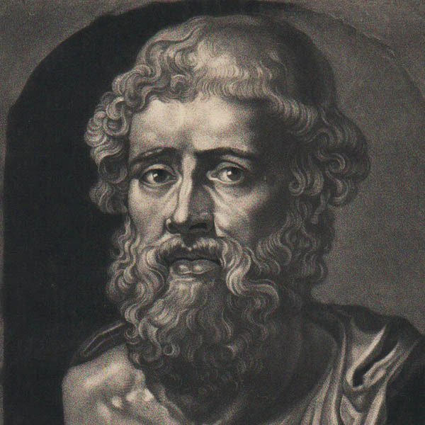 Detail of Demosthenes