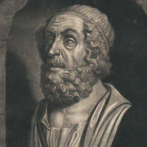 Detail of Homer