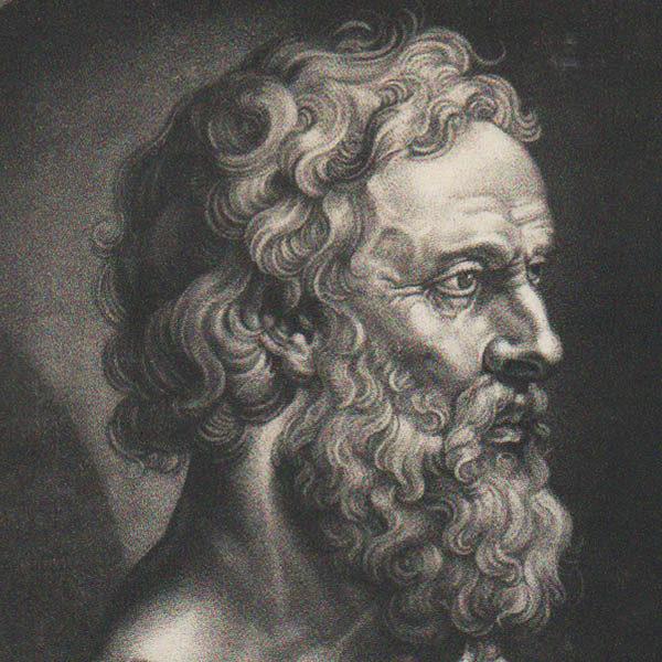 Detail of Plato