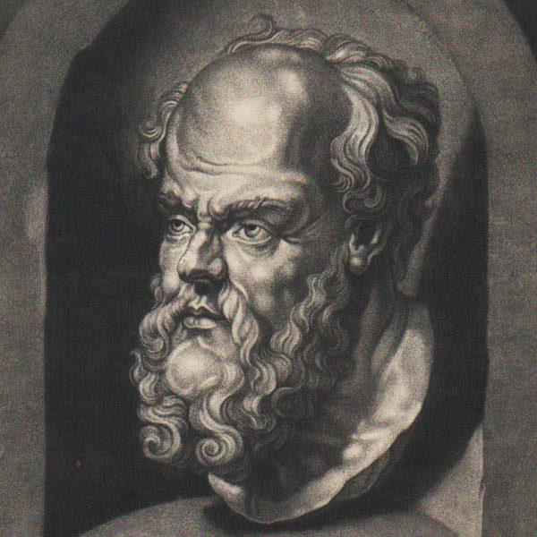 Detail of Socrates