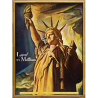 Loved By Millions, Statue of Liberty Poster after Ben Stahl