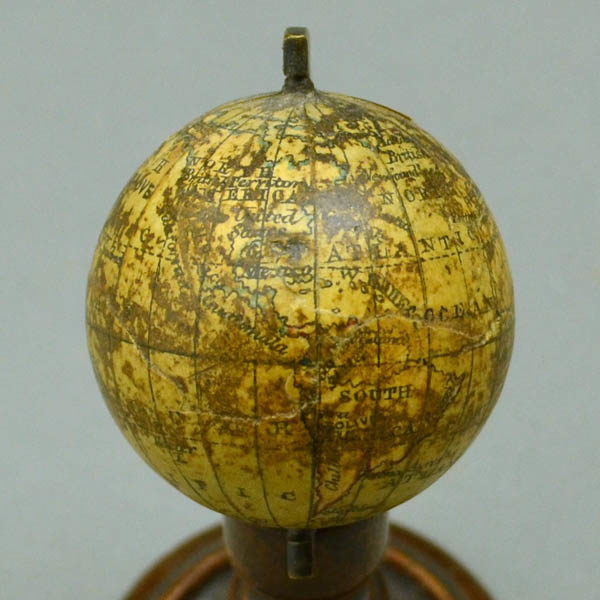 C. Snellgrove 1.75 inch Terrestrial Table Miniature Globe, North America and South America
