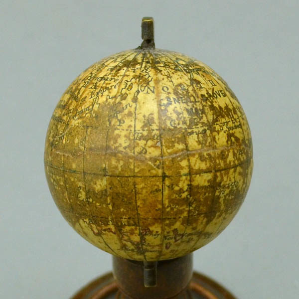 C. Snellgrove 1.75 inch Terrestrial Table Miniature Globe, Pacific