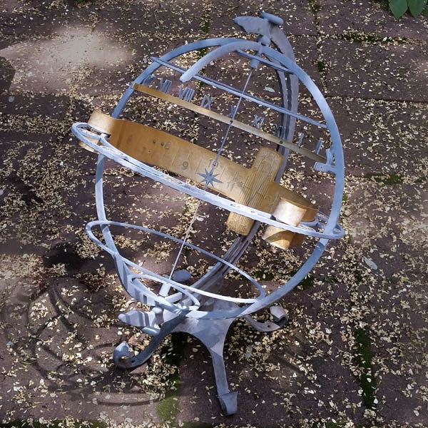 Garden Armillary Sundial Turler Uhren
