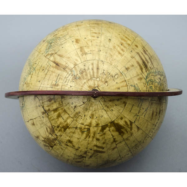 Dien 10-Inch Terrestrial Globe, detail of South Pole and Antarctic