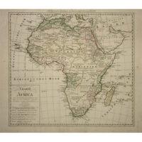 Franz Ludwig Güssefeld, Charte von Africa [Map of Africa], Homann Heirs, 1806