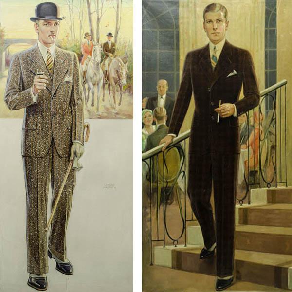 Fashion Design Art Menswear Formal Sporting Edmund