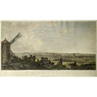 View of Paris from Mont Martre, 1803