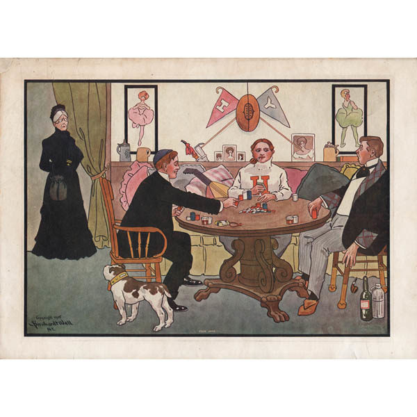 Your Ante, Bernhardt Wall Poker Print
