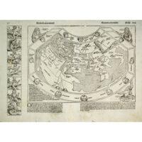 Hartmann Schedel, Secunda etas mundi [World Map], Nuremberg: 1493