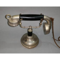 Western Electric 1002 Handset on a Federal GrabAPhone Desk Stand