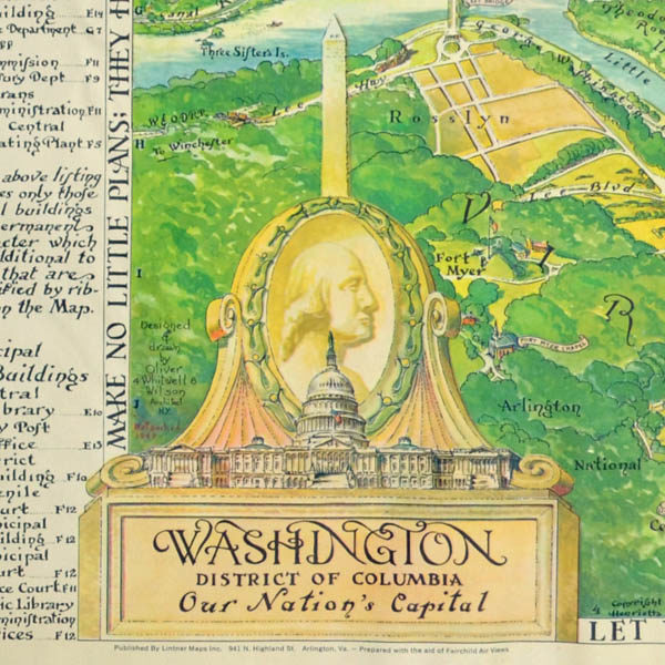 Washington, District of Columbia, Our Nation's Capital, cartouche