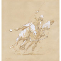 Polo Players by James Bodrero