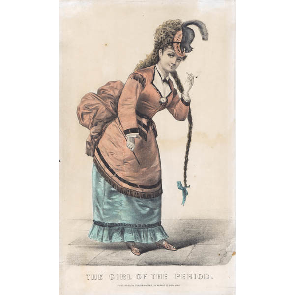 The Girl of the Period, Currier and Ives