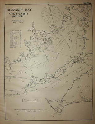 Chart 5A: Buzzards Bay and Vineyard Sound