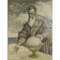 Portrait of Gerardus Mercator