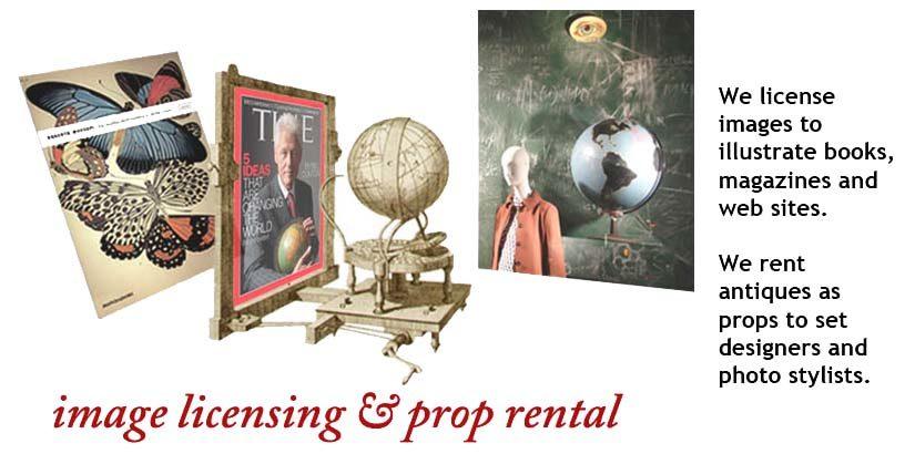 Image licensing and prop rental