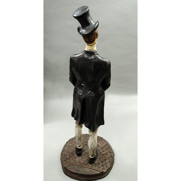 Gentleman Figurine, back