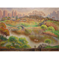 Central Park Landscape by Margaret H. Chrystie
