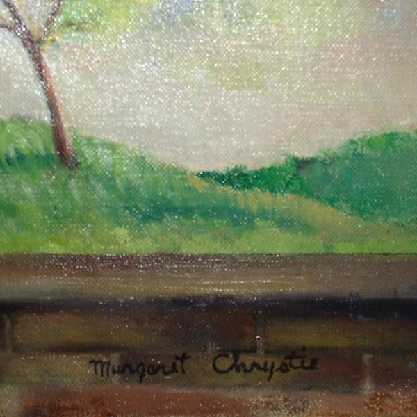 Margaret Chrystie signature