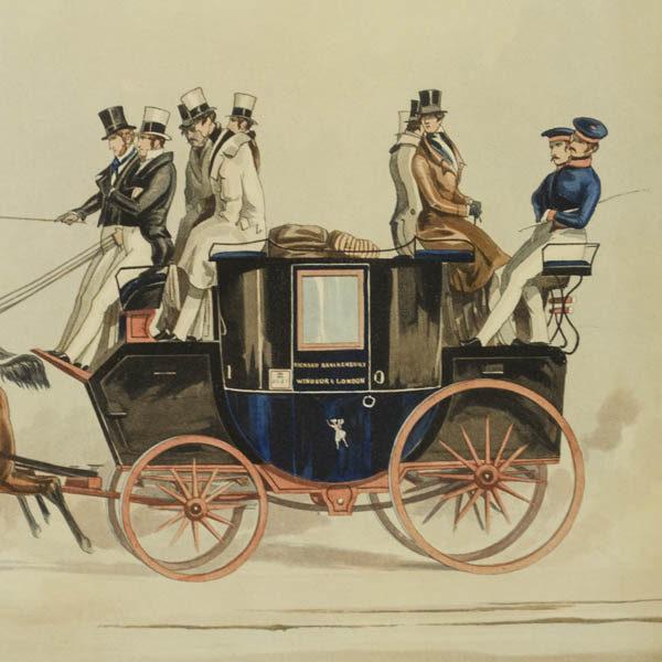Detail of Taglioni coach