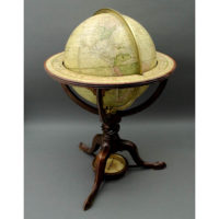 Bardin and Wright 12-Inch Terrestrial Table Globe
