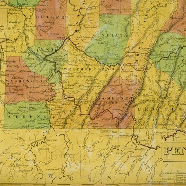 Southwestern Pennsylvania detail