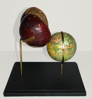 Custom pocket globe stand