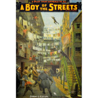 A Boy of the Streets theatre poster