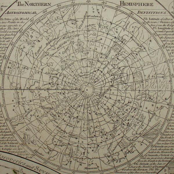 Detail of Northern Hemisphere Constellations