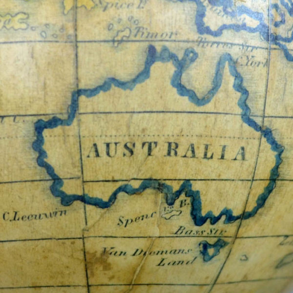 Detail of Australia, Holbrook 5-Inch Table Globe