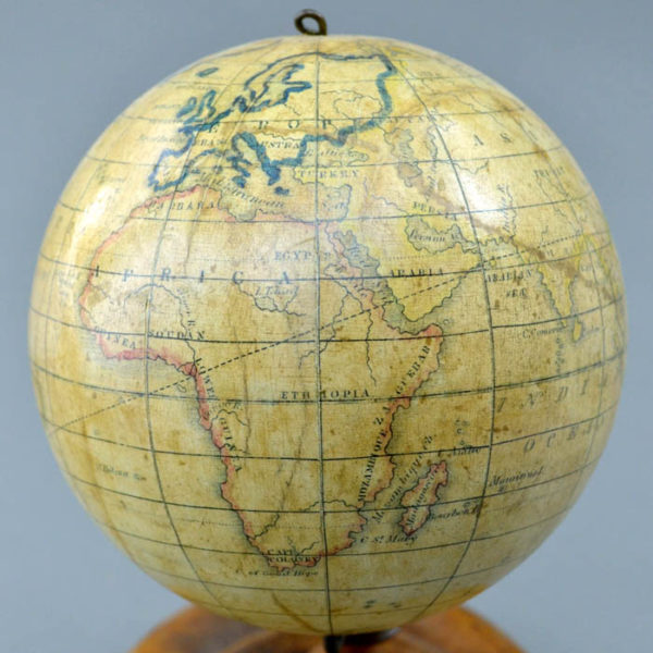 Detail of Africa, Holbrook 5-Inch Table Globe