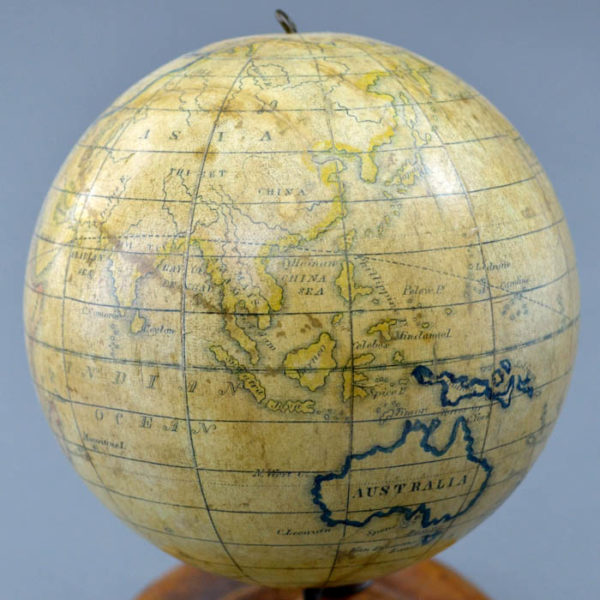 Detail of Asia and Australia, Holbrook 5-Inch Table Globe