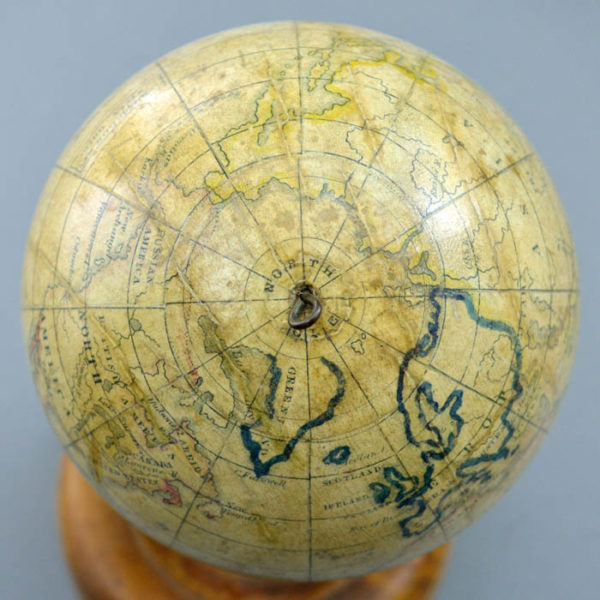 Detail of North Pole, Holbrook 5-Inch Table Globe