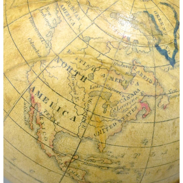 Detail of North America, Holbrook 5-Inch Table Globe
