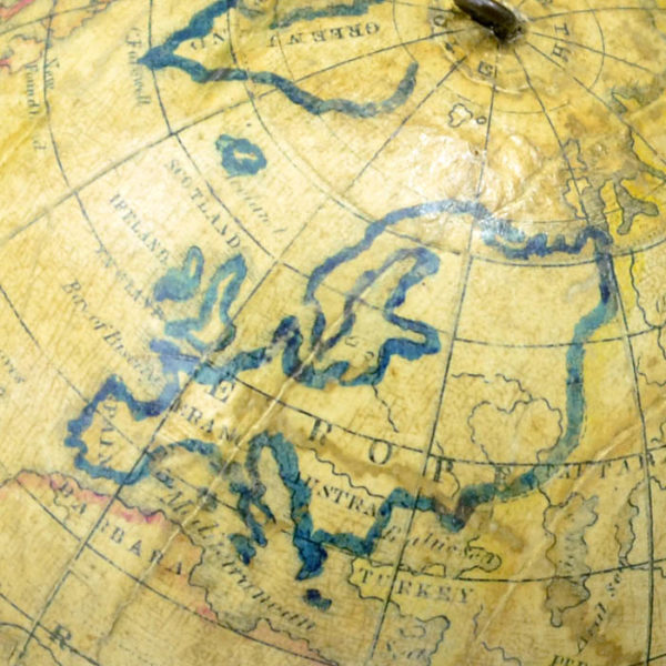Detail of Europe, Holbrook 5-Inch Table Globe