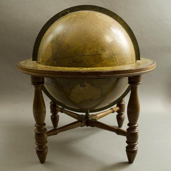 Josiah Loring 12-Inch Terrestrial Globe, side