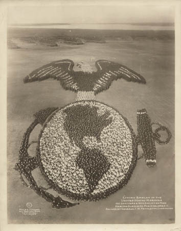 Living Emblem of the United States Marines (1919)