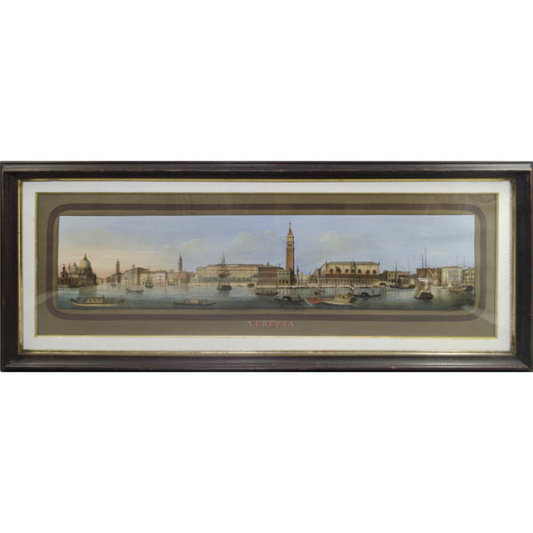 Venezia view, framed