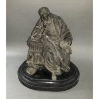 Seated Portrait of Galileo figurine