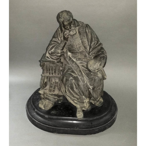 Seated Portrait of Galileo figurine