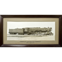 American Locomotive Photograph