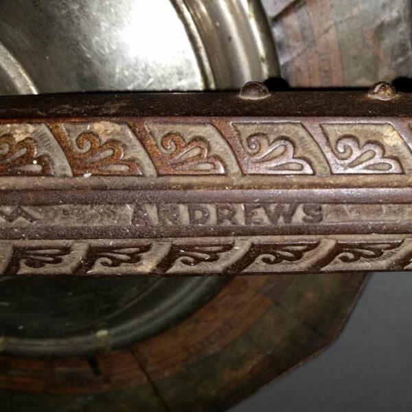 Weber Costello Co. Andrews' Lunar Tellurian, detail