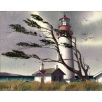 Bernath Lighthouse, New England